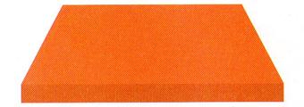 Acheter toile de store Unis Ref : BYU 86 ORANGE